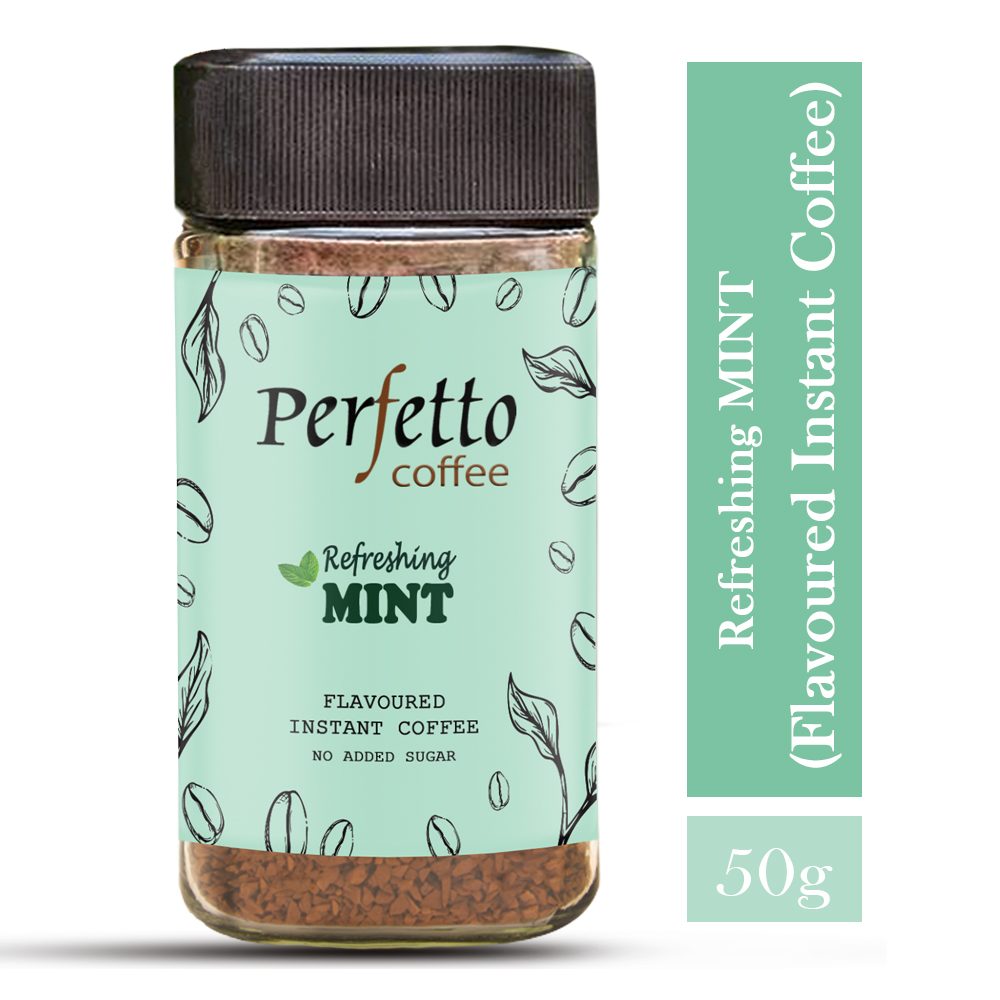 Mint Flavoured Instant Coffee