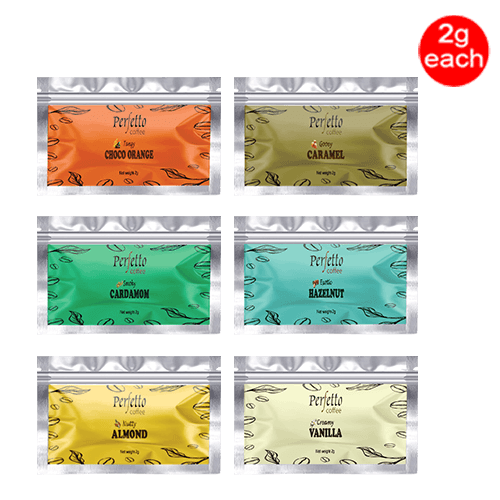 Assorted Sample Pack Of Six Flavours (2 Gram Each)