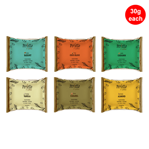 Assorted Sample Pack Of Six Flavours (30 Gram Each)