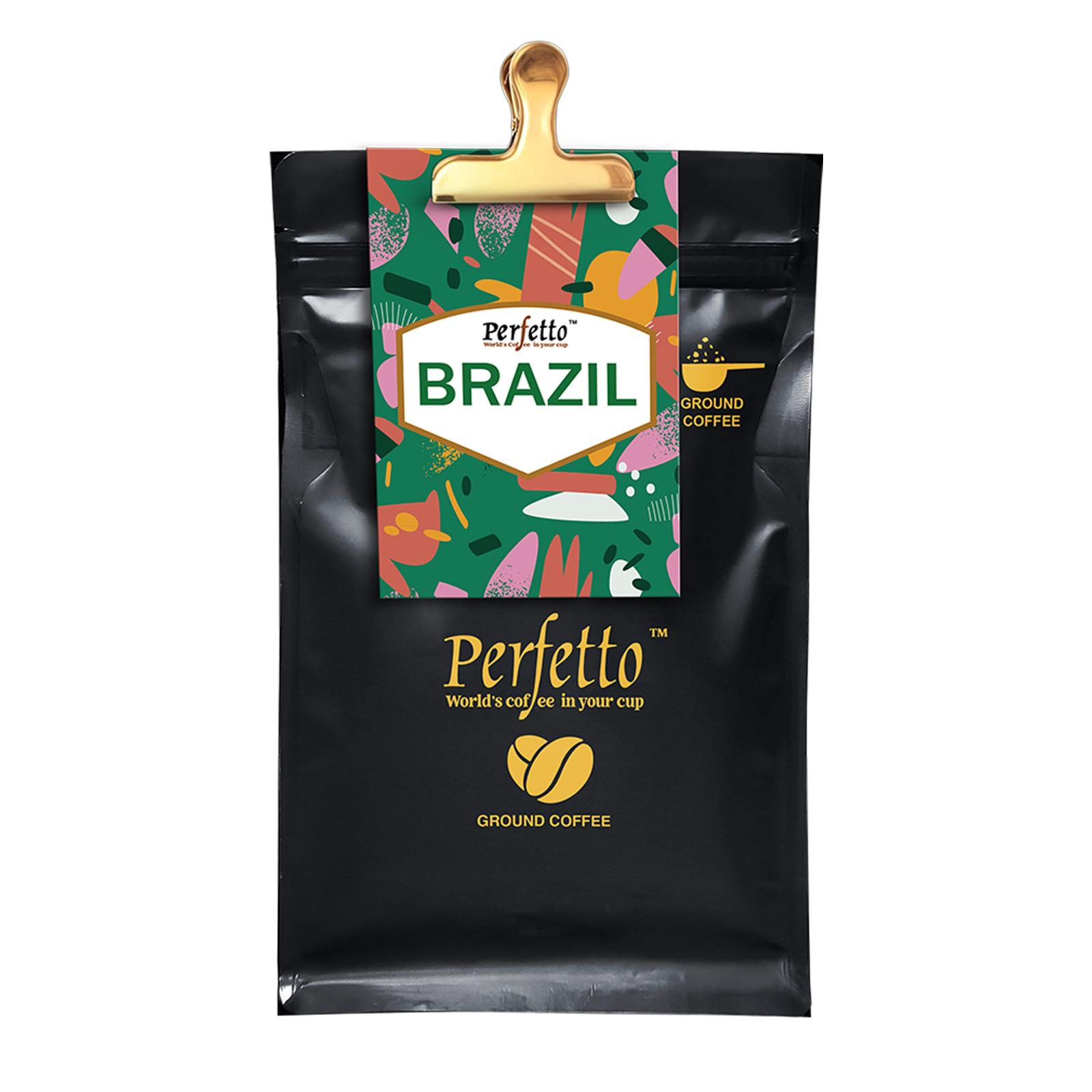 Brazil Fazenda Santa Barbara Roast And Ground Coffee