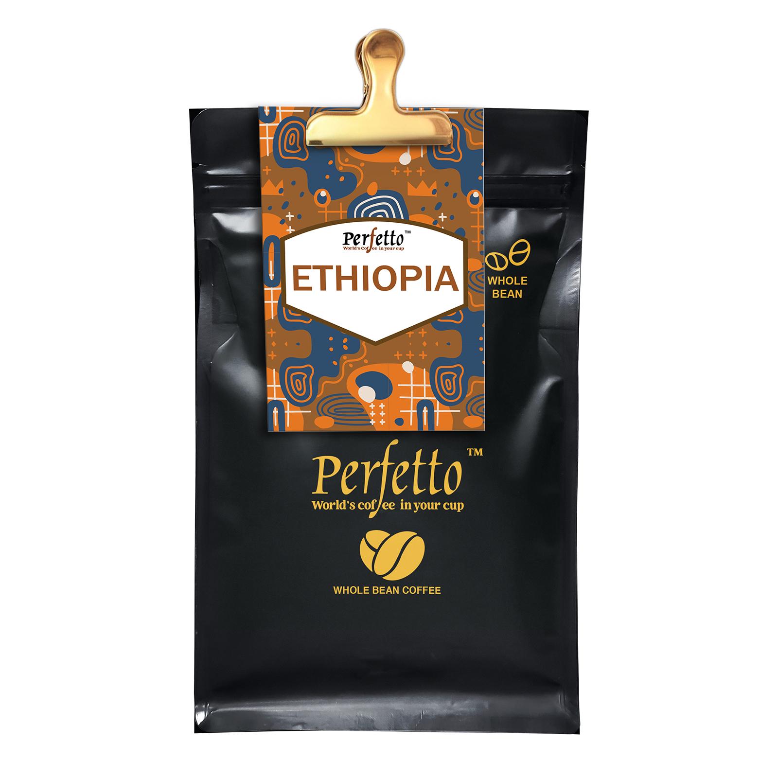 Ethiopia Guji Roasted Coffee Bean