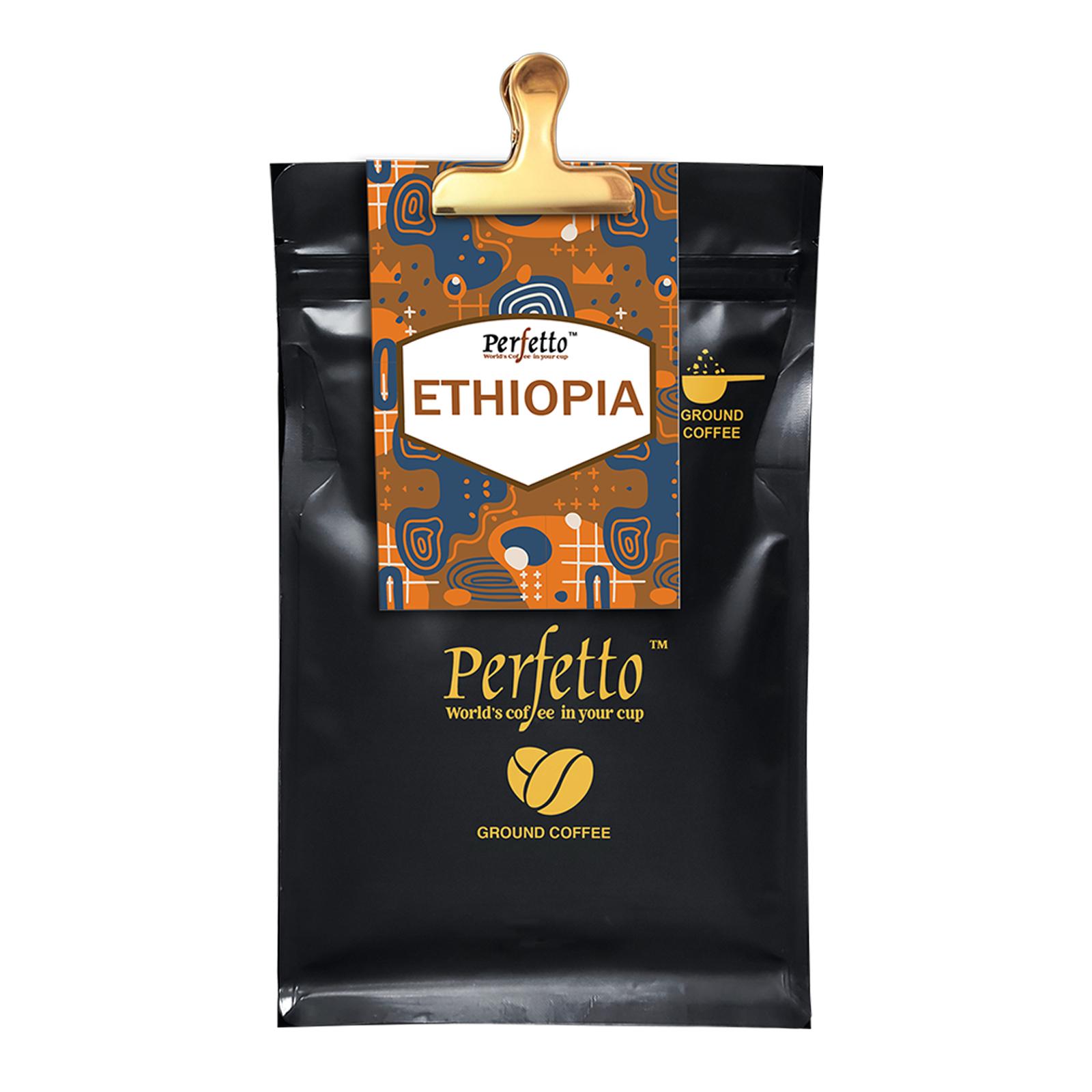 Ethiopia Guji Roast And Ground Coffee