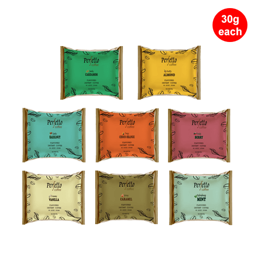 Assorted Sample Pack Of Eight Flavours (30 Gram Each)