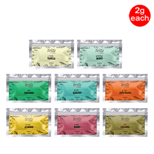 Assorted Sample Pack Of Eight Flavours (2 Gram Each)